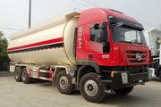 上汽红岩 杰狮C100 390马力 8X4 粉粒物料运输车(CQ5316GFLHTVG466H)