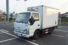 庆铃 五十铃100P 98马力 4X2 冷藏车(QL5040XLCA6HA)