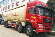 中国重汽 斯太尔D7B 380马力 8X4 粉粒物料车(程力威牌)(CLW5310GFLZ5)