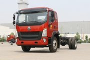 中国重汽HOWO G5X中卡 210马力 6.2米排半厢式载货车底盘(ZZ5167XXYG471DE1A)