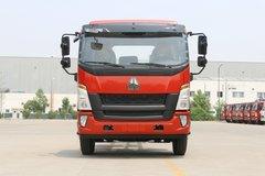 中国重汽HOWO G5X中卡 轻载版 210马力 5.2米排半栏板载货车(ZZ1167G421DE1A)图片