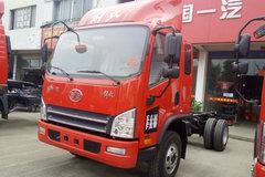 解放 虎VH 141马力 3.85米排半仓栅式轻卡底盘(CA5041CCYP40K17L1E5A84-1) 卡车图片