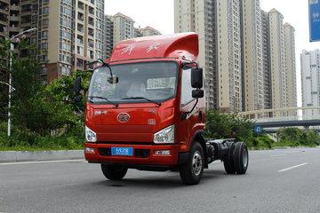 解放 J6F 120马力 4.21米单排厢式轻卡底盘(CA5081XXYP40K2L1E5A84-3)