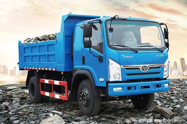 三环十通 T3创客 160马力 4X2 4.2米自卸车(STQ3161L03Y2N5)