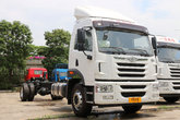 青岛解放 龙VH中卡 220马力 4X2 9.6米厢式载货车底盘(CA5189XXYPK2L7E5A80)