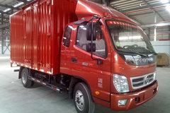 福田 奥铃TX 95马力 3.8米排半厢式轻卡(BJ5039XXY-BC) 卡车图片