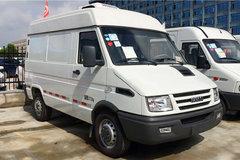 南京依维柯 129马力 4X2 冷藏车(程力威牌)(CLW5040XLCN5)
