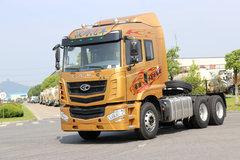 华菱 汉马H6重卡 标载版 375马力 6X4牵引车(HN4250H35C4M5)