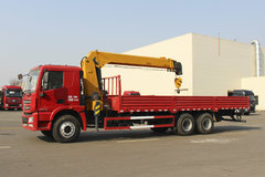 徐工 �h风G5 240马力 6X4 随吊车(NXG1250D5NFX) 卡车图片
