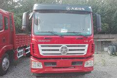 大运 风驰中卡 160马力 4X2 6.8米排半栏板载货车(CGC1161D4UAB) 卡车图片