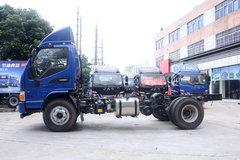 江淮 骏铃E6 重载版 156马力 4.2米单排厢式轻卡底盘(HFC5043XXYP91K2C2V)