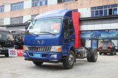 江淮 骏铃E6 重载版 156马力 4.15米单排厢式轻卡底盘(HFC5043XXYP91K2C2V)
