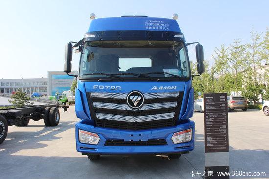 福田 欧曼ETX 6系重卡 430马力 6X4牵引车(BJ4253SNFKB-AC)
