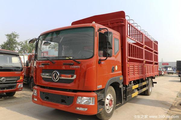 东风 多利卡D9 160马力 4X2 6.8米仓栅式载货车