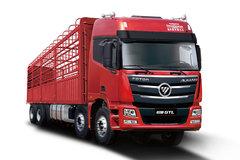 福田 欧曼GTL 6系重卡 平原标载型 400马力 8X4 9.5米仓栅式载货车(BJ5319CCY-AA) 卡车图片