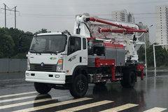 重汽王牌 7系 185马力 4X2 混凝土泵车(CDW5180THBA1R5)