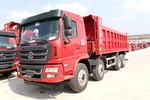 陕汽商用车 轩德X6 复合版 300马力(潍柴) 8X4 7.6米自卸车(SX3314GP5)图片