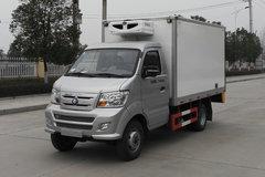 重汽王牌 7系 112马力 汽油/CNG  4X2冷藏车(CDW5030XLCN2M5D)