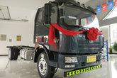 一汽解放 J6L中卡 质惠版 220马力 4X2 6.8米栏板载货车底盘(CA1180P62K1L4E5)