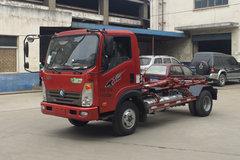 重汽王牌 王牌7系 4X2 87马力 车厢可卸式垃圾车(CDW5070ZXXHA1P5)