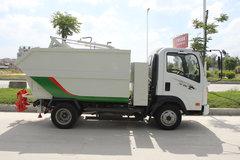 重汽王牌 王牌7系 4X2 87马力 自装卸式垃圾车(CDW5040ZZZHA1P5)