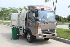 重汽王牌 王牌7系 4X2 87马力 自装卸式垃圾车(CDW5041ZZZHA1P5)