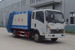 重汽王牌 王牌7系 4X2 160马力 4200轴距垃圾转运车(CDW5160ZLJA3R5)