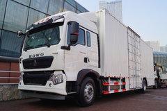 中国重汽 HOWO T5G重卡 280马力 4X2 9.6米厢式载货车(ZZ5187XXYN711GE1) 卡车图片