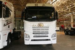 青岛解放 JH6重卡 400马力 6X4 CNG牵引车(CA4250P25K15T1NE5A80)