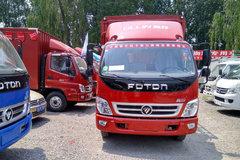 福田 奥铃捷运 科技版 143马力 3.8米排半仓栅式轻卡(BJ5049CCY-B1) 卡车图片