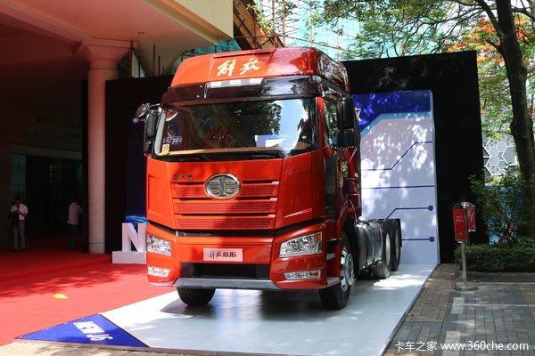 一汽解放 新J6P重卡 领航标载版 南方款 460马力 6X4牵引车