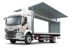 东风柳汽 新乘龙M3中卡 185马力 4X2 7.7米翼开厢式载货车(LZ5161XYKM3AB) 卡车图片