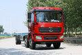陕汽重卡 德龙L3000 220马力 6X2 9.7米栏板载货车底盘