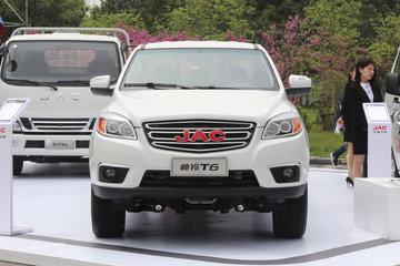 江淮帅铃T6 2018款 创客版 豪华型 2.0T柴油 139马力 两驱 长轴距双排皮卡(4DB2-1D1)