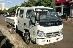 福田时代 小卡之星3 82马力 4X2 2.7米双排栏板轻卡(BJ1036V3AB5-B3) 卡车图片