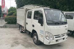 跃进 小福星S50Q  87马力 汽油 2.6米双排仓栅式微卡(NJ5032CCYPBGBNS) 卡车图片