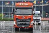 东风柳汽 乘龙H7重卡 375马力 8X4 9.6米仓栅式载货车(LZ5313CCYH7FB)