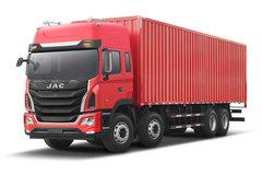 江淮 格尔发K5W重卡 标载型 380马力 8X4 9.5米厢式载货车(HFC5311XXYP1K6H45S4V) 卡车图片