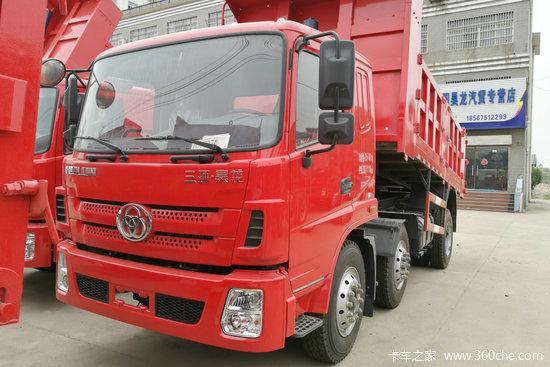 三环十通 昊龙轻卡 180马力 6X2 5米自卸车(STQ3251L07Y3D5)