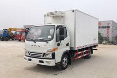 江淮 骏铃V5 120马力 4X2 4.03米冷藏车(HFC5045XLCP92K1C2V)