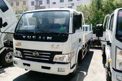 跃进 帅虎H100-33 95马力 3.8米排半栏板轻卡(NJ1041DBFT5) 卡车图片