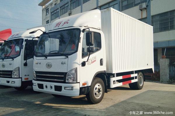 解放 虎VH 140马力 3.85米单排售货车