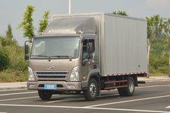 四川现代 盛图H1 129马力 4.12米单排厢式轻卡(CHM5041XXYGDC33V)