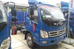 福田 奥铃捷运 131马力 4.2米单排厢式轻卡底盘(BJ5049XXY-A8) 卡车图片
