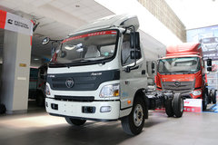 福田 欧马可3系 重载版 154马力 4.15米单排厢式轻卡底盘(BJ5049XXY-A3) 卡车图片