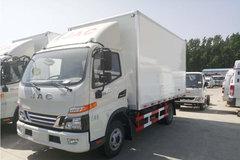 江淮 骏铃V6 130马力 4X2 冷藏车(HFC5043XLCP91K1C2V)
