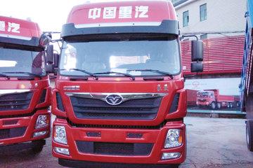 中国重汽 豪曼H5重卡 豪华型 340马力 6X4牵引车(ZZ4258M40EB0)