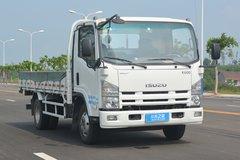 庆铃 五十铃K600 190马力 5.058米单排栏板轻卡(QL1100A8KA) 卡车图片