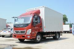 福田 奥铃CTX 131马力 3.7米排半厢式轻卡(断气刹)(BJ5043XXY-FE) 卡车图片