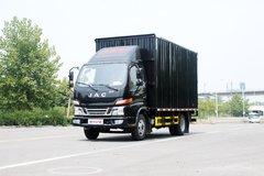 江淮 骏铃V3 快递版 109马力 4.2米单排厢式轻卡(HFC5041XXYP93K4C2V) 卡车图片